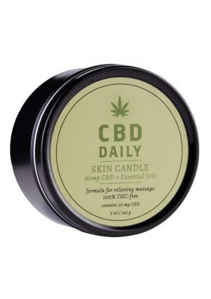 CBD Daily Skin Candle 5.3 oz.