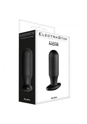 ElectraStim Aura Silicone Noir Electro-Sex Multi-Probe Black