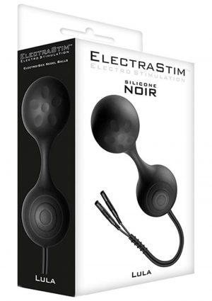 ElectraStim Lula Silicone Noir Electro-Sex Ben Wa Balls Black