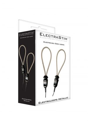 ElectraStim Electro-Sex Cock Loops Adjustable Metallic