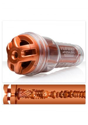 Fleshlight Turbo Ignition Textured Masturbator Copper 9.75 Inch