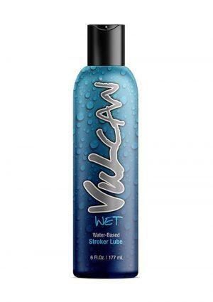 Vulcan Wet Water Based Stroker Lube 6 Ounce