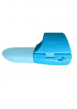 Fuzu Fingertip Massager Neon Blue