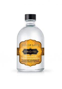 Oil Of Love Kissable Body Oil Coconut Pineapple .75 Ounce