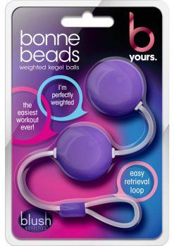 B Yours Bonne Beads Showerproof Purple 8.70 Inch