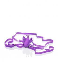 Venus Butterfly Silicone Remote Venus USB Rechargeable Waterproof Purple