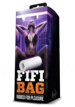 X5 Men Fifi Bag Masturbator Clear 5.25 Inch
