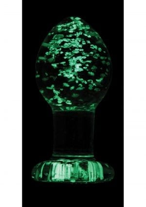 Firefly Glass Glow In The Dark Plug Medium 3 Inch