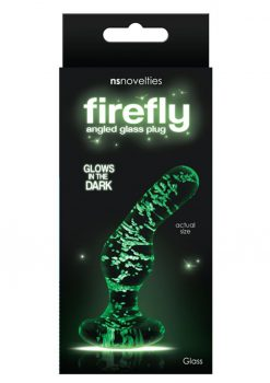 Firefly Glass Angled Plug Clear