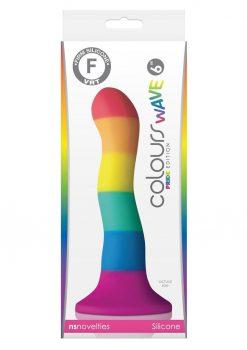 Colours Pride Edition 6 Inch Wave Dildo