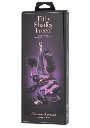 Fifty Shades Freed Pleasure Overload 10 Days of Play Gift Set