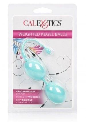 Weighted Kegel Balls Teal