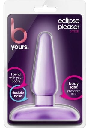 B Yours Eclipse Pleaser Anal Plug Purple Small