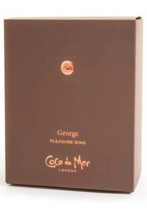 Coco de Mer George Vibe Cock Ring Brown