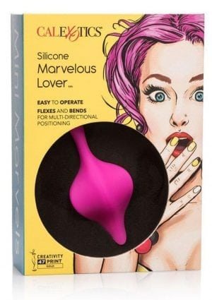 Calexotics Mini Marvelous Lover Silicone Stimulator Waterproof Pink