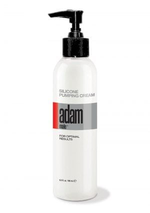 Adam Male Silicone Pump Cream 6.3 Oz