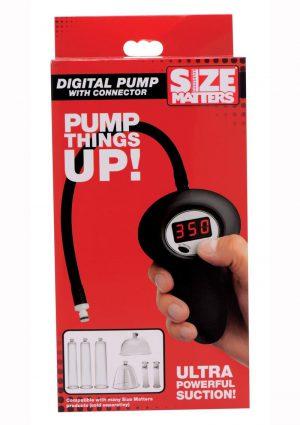 Size Matters Digital Pump W/ Connector
