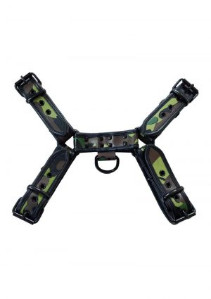 Rouge Oth Front Harness Md Camo/blk